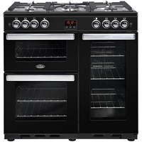 Belling Cookcentre 90DDFT in Black Luton
