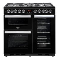Belling Cookcentre 90DDFT in Professional Stainless Steel Luton