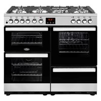 Belling Cookcentre 100DF in Professional Stainles Steel Luton