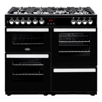 Belling Cookcentre 100DF in Black Luton