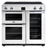 Belling Cookcentre 90EI in Professional Stainless Steel Bristol