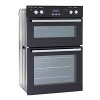 Montpellier MDO90KIntegrated DOUBLE Oven MAIN FAN Oven BLACK