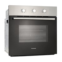 Montpellier SFO66MXIntegrated Single FAN Oven M-MINDER S/STEEL, 8 FUNCTION