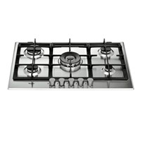 Whirlpool GMA7522/IXWhirlpool Absolute GMA 7522IX Hob - Stainless Steel