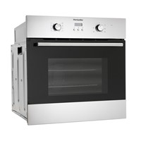 Montpellier SFO59MXIntegrated Single Oven In Stainless Steel with Pop-In Pop-Out Controls and LED Timer