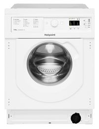 Hotpoint BI WDHL 7128Built In 7kg 1200 Washer Dryer , B Energy, Antistain 100/ Quick , LED Plus Display, Woolmark