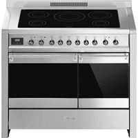 Smeg A2PYID-81PRE ORDER 100cm Opera Stainless Steel Dual Cavity Induction Hob Pyrolytic Range Cooker